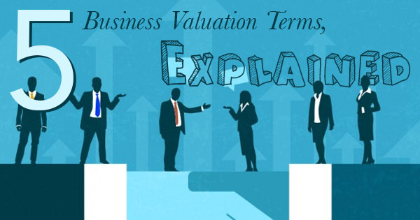 business valuation terms, explained